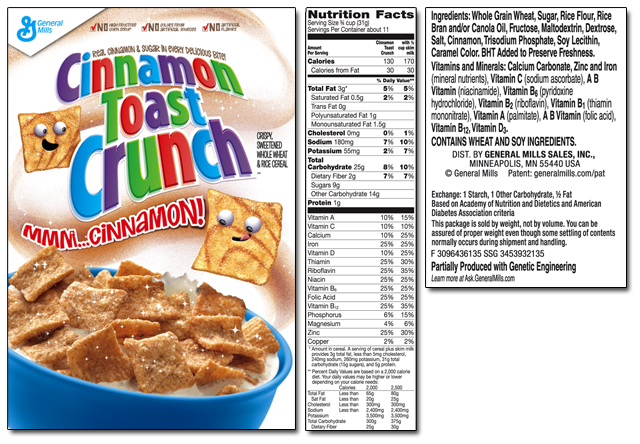 Junk Food Made Real: Homemade Cinnamon Toast Crunch ...